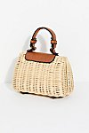 Thumbnail View 4: Mini Wicker Crossbody Bag