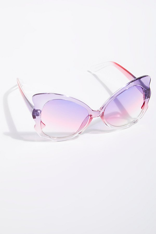 Slide View 2: Madame Butterfly Sunglasses