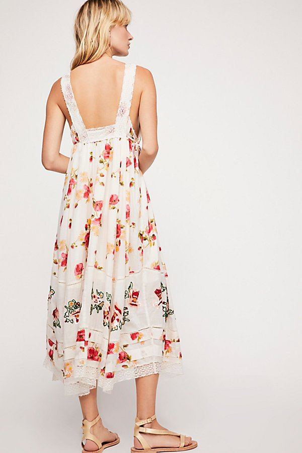 Slide View 2: Floral Bird Maxi Dress