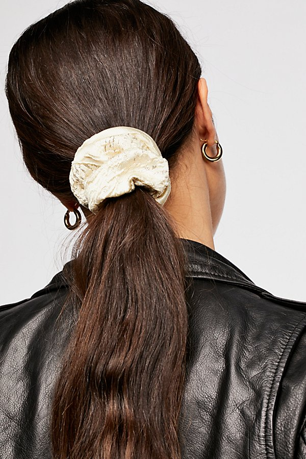 Slide View 1: Dazzle Brocade Scrunchie
