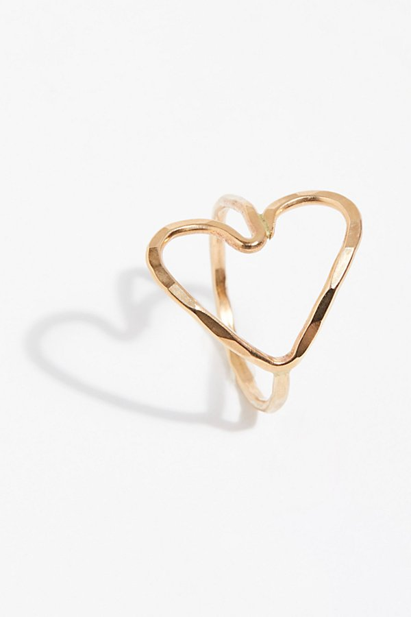 Slide View 1: Lucky Complete Heart Ring