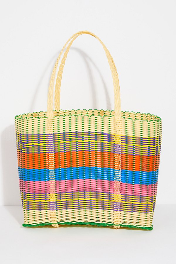 Slide View 2: Paradiso Woven Tote