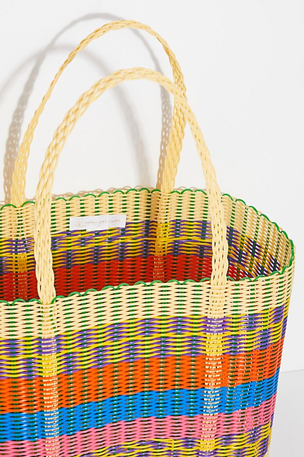Slide View 5: Paradiso Woven Tote