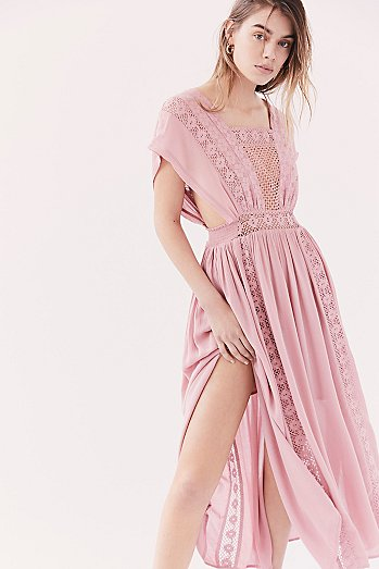 Sway Away Pieced Maxi Dress
