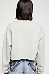 Thumbnail View 3: Cropped Graphic Sweatshirt