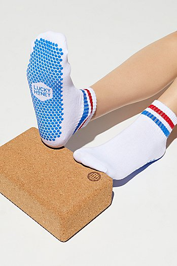 Boyfriend Sport Grip Sock