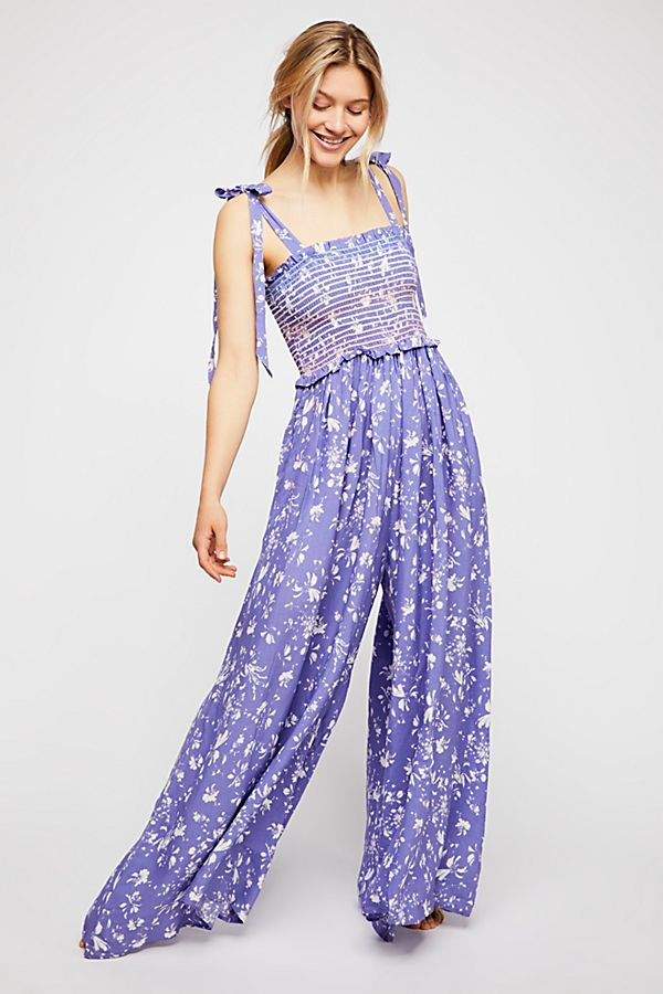 Color My World Jumpsuit in Red. - size M (also in L,S,XS) Free People