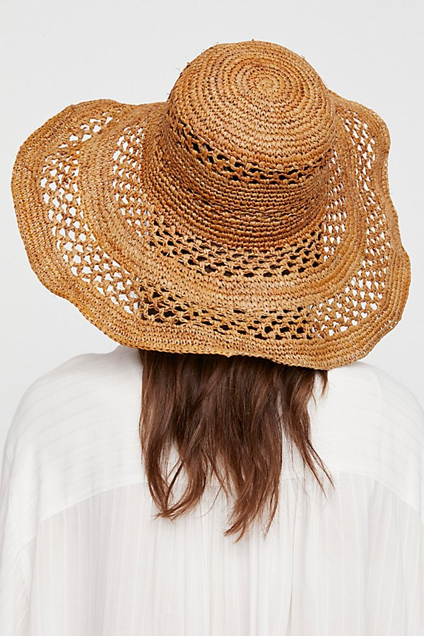 Slide View 3: Camille Raffia Straw Hat