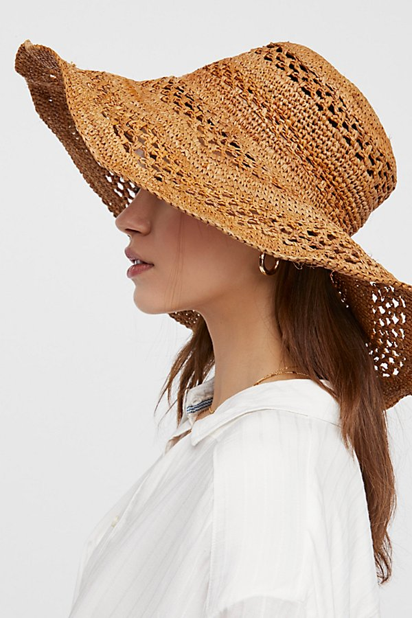 Slide View 4: Camille Raffia Straw Hat