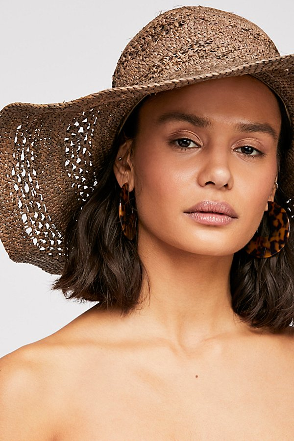 Slide View 1: Camille Raffia Straw Hat