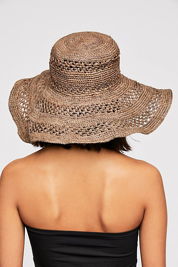 Slide View 2: Camille Raffia Straw Hat
