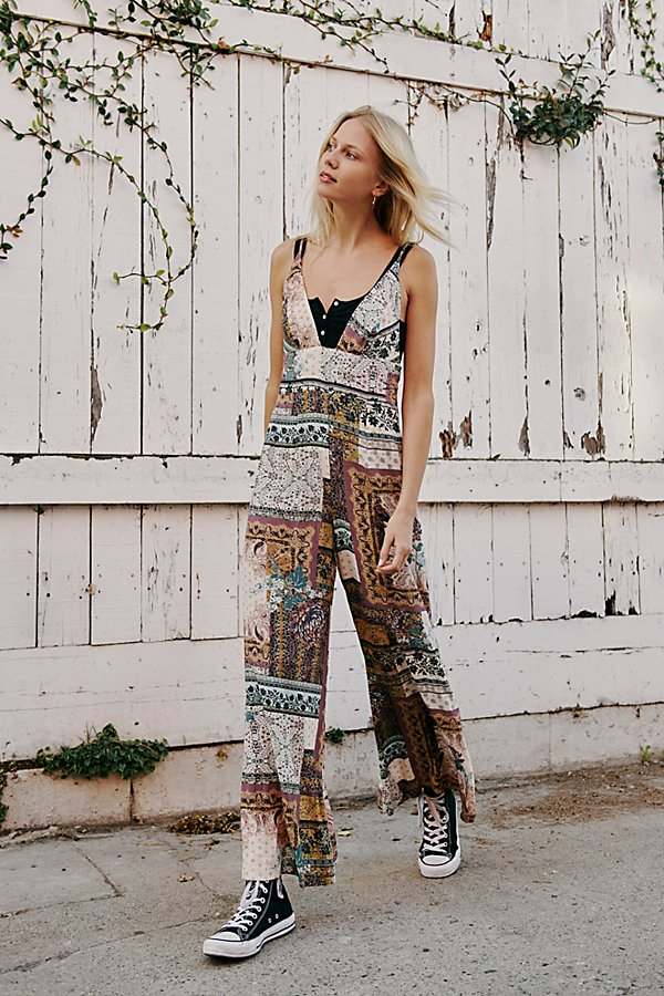 Slide View 1: Margarita Patchwork Jumpsuit