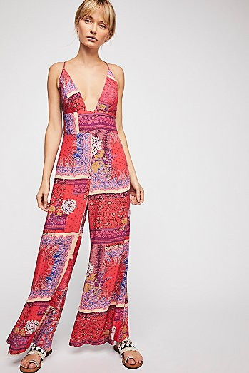 Margarita Patchwork Jumpsuit