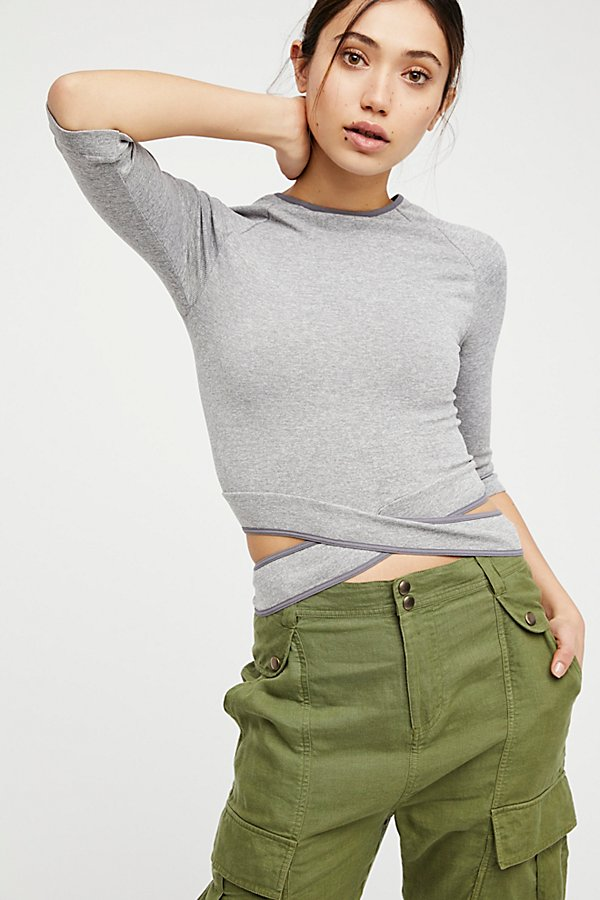 Slide View 1: Wrapped Around You Crop Top