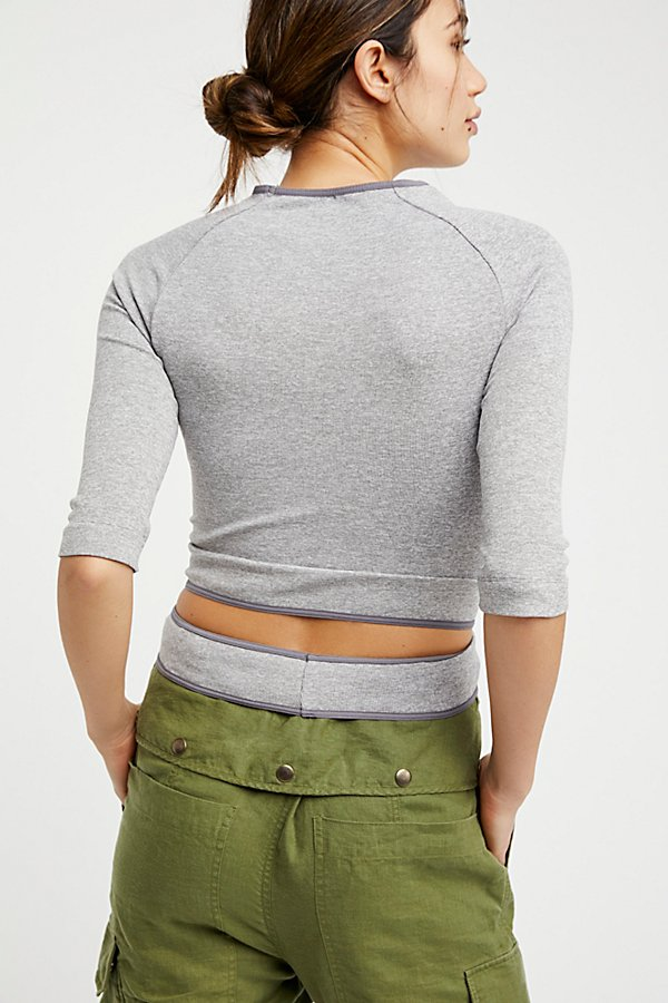 Slide View 2: Wrapped Around You Crop Top