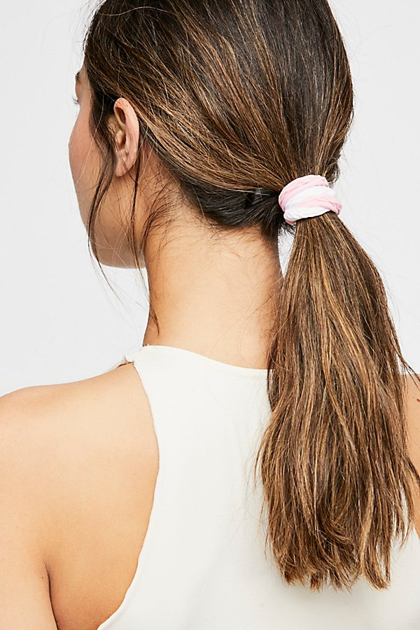 Slide View 1: Fishnet Hair Ties - 3 pack