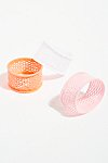 Thumbnail View 2: Fishnet Hair Ties - 3 pack