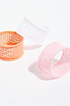 Thumbnail View 3: Fishnet Hair Ties - 3 pack