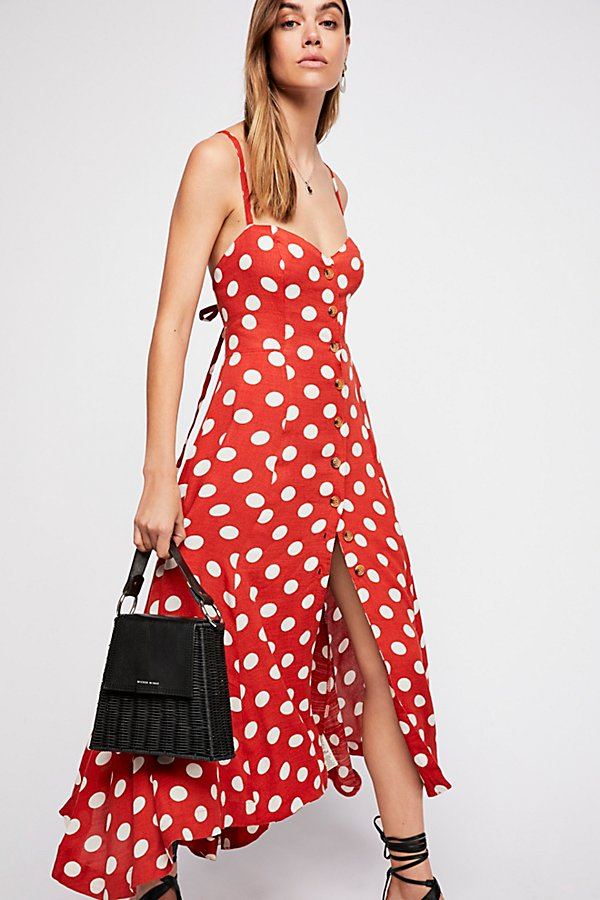 Slide View 1: The One Dot Midi Dress