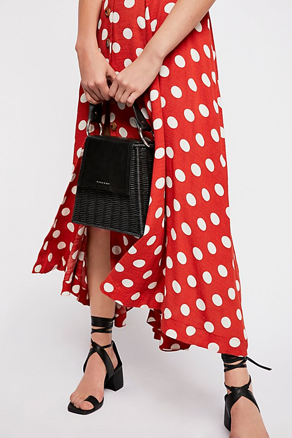 Slide View 3: The One Dot Midi Dress