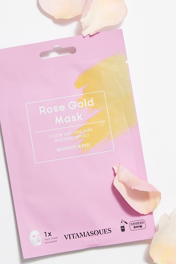 Slide View 1: Rose Gold Mask