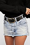 Thumbnail View 3: OneTeaspoon Junkyard Relaxed Mini Skirt