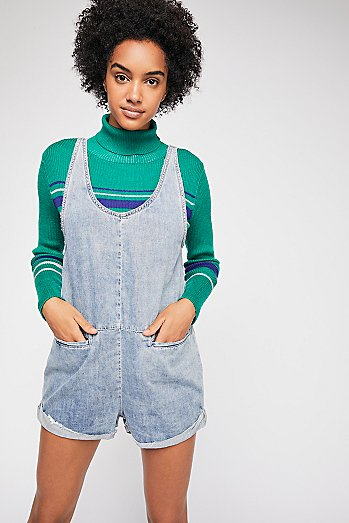 OneTeaspoon Denim Romper