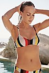 Thumbnail View 2: The Rachel Stripe Bikini Top