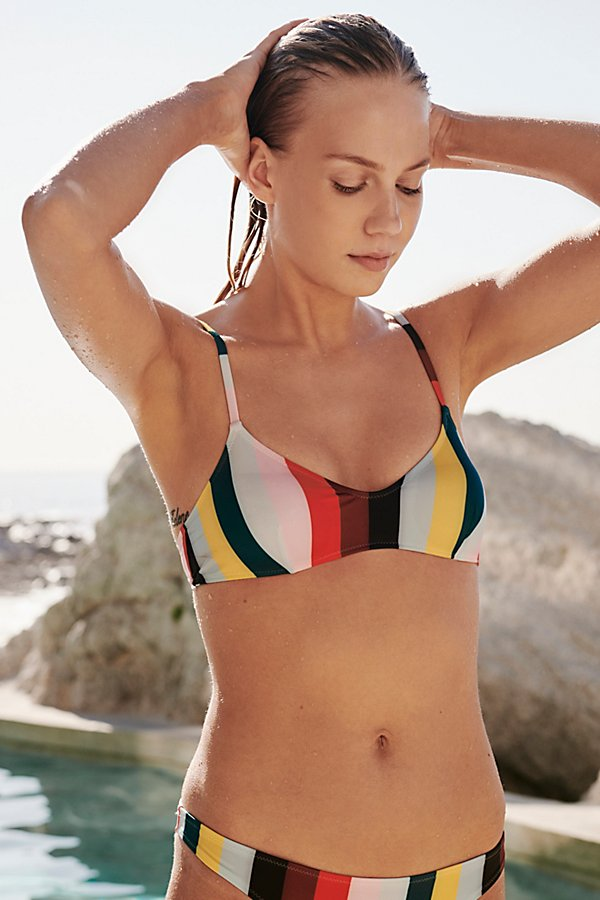 Slide View 2: The Rachel Stripe Bikini Top