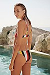 Thumbnail View 2: The Rachel Stripe Bikini Bottom