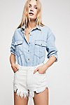 Thumbnail View 3: Love And Hugs Denim Buttondown