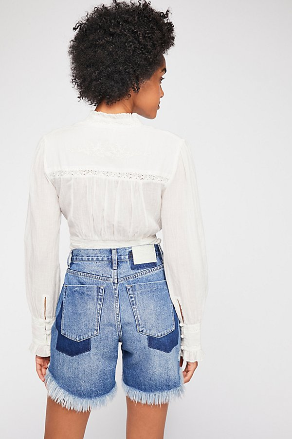 Slide View 2: OneTeaspoon Legend High Waist Denim Shorts
