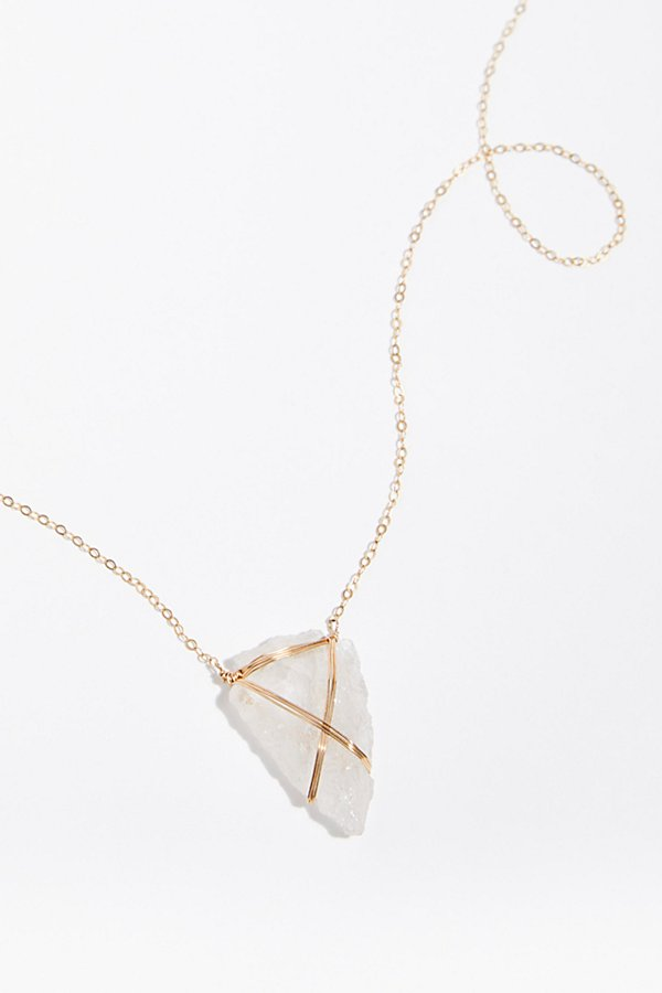 Slide View 2: Malia Arrowhead Necklace