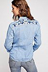 Thumbnail View 3: Rodeo Babe Buttondown Top