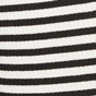 Black / Ivory Stripe