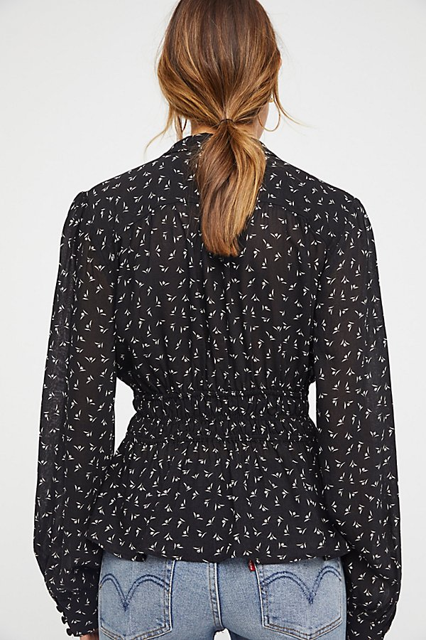 Slide View 2: Colette Printed Buttondown Top