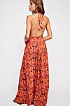 Thumbnail View 2: Look Into the Sun Printed Maxi Dress