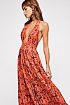 Thumbnail View 3: Look Into the Sun Printed Maxi Dress