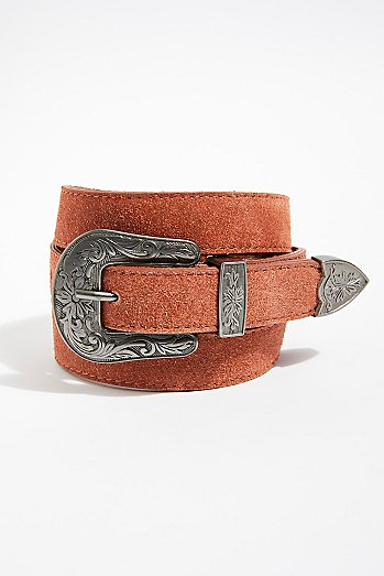 Wildwood Suede Belt