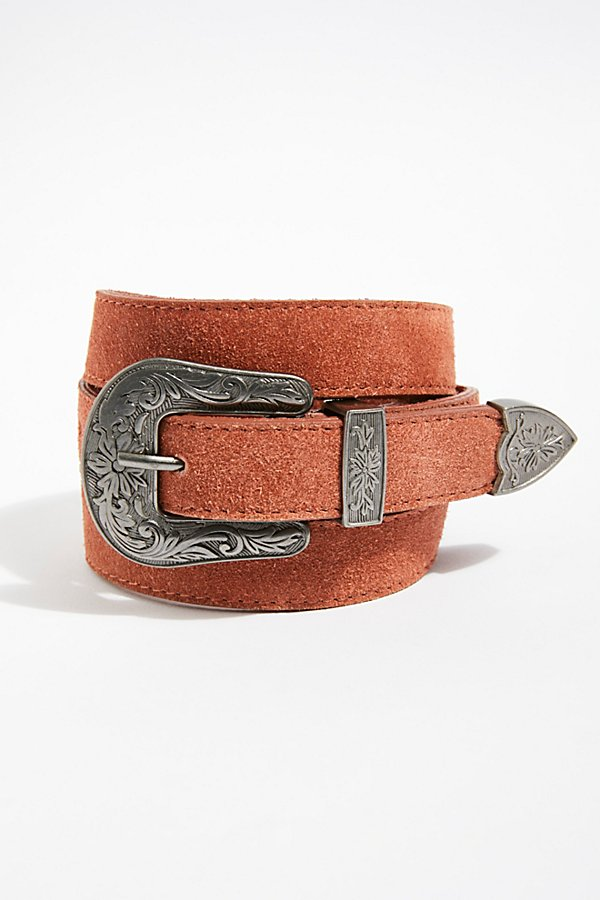 Slide View 1: Wildwood Suede Belt