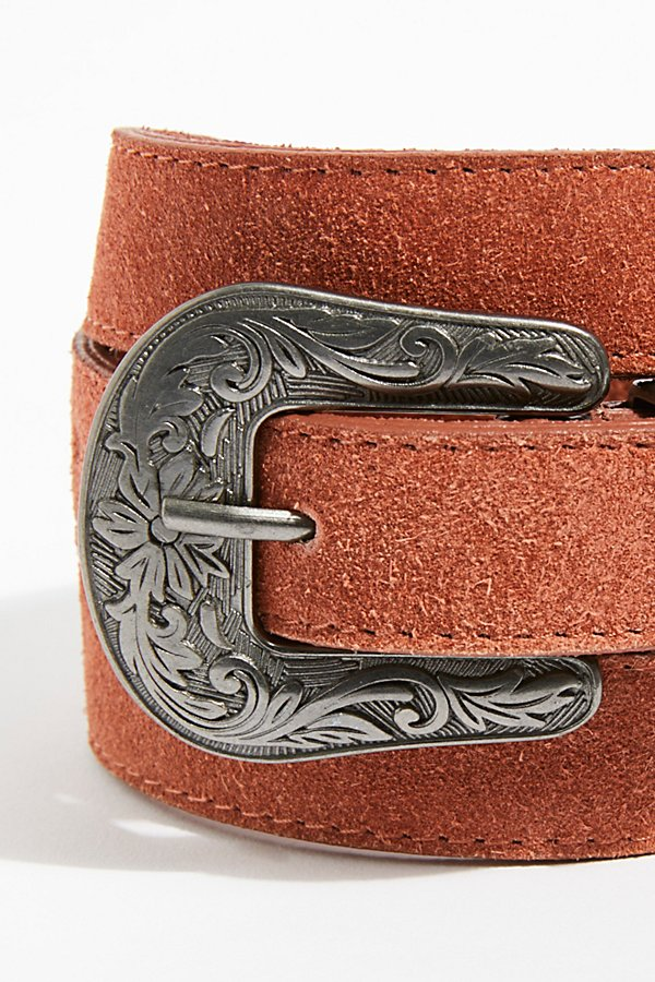 Slide View 3: Wildwood Suede Belt