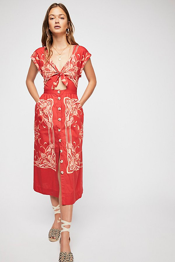 Slide View 2: Linvilla Midi Dress