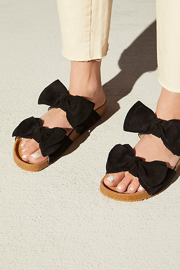 Slide View 1: Double Knot Footbed Sandal
