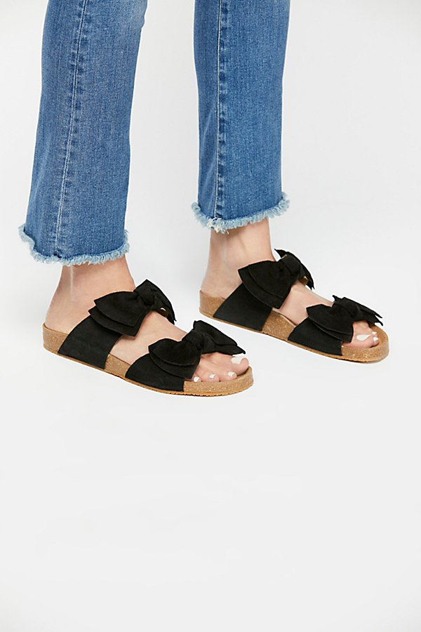 Slide View 2: Double Knot Footbed Sandal