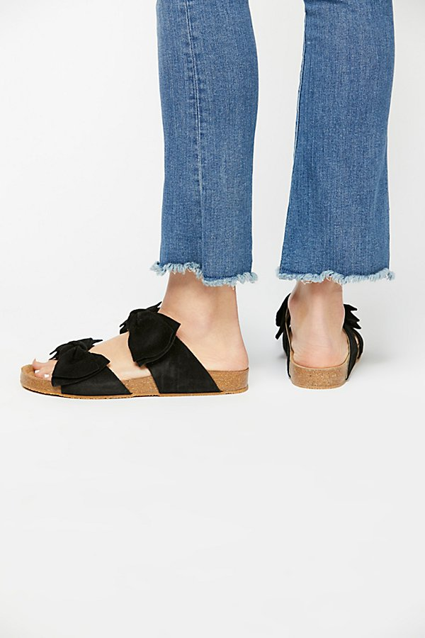 Slide View 4: Double Knot Footbed Sandal