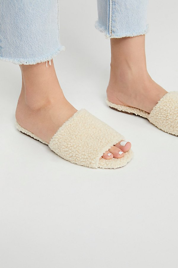 Slide View 3: Teddy Bear Slide Sandal