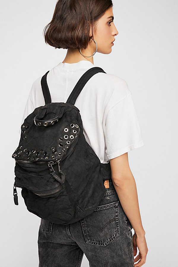 Slide View 1: Pistoia Distressed Backpack