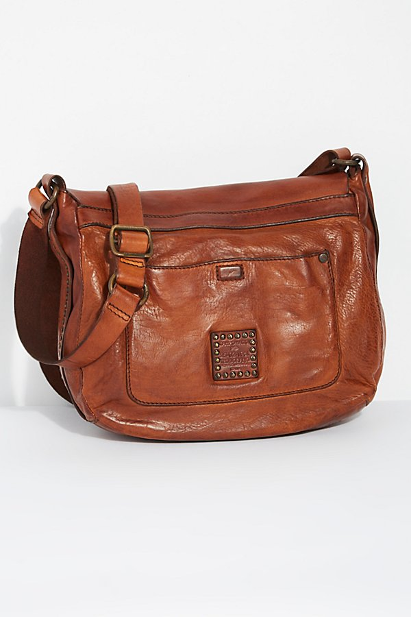Slide View 4: Piacenza Distressed Messenger Bag
