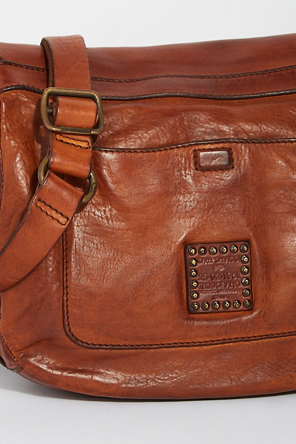 Slide View 5: Piacenza Distressed Messenger Bag
