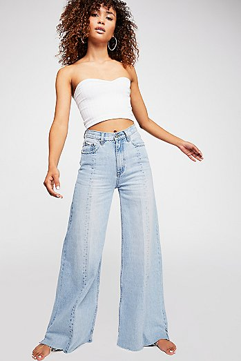 Neon Blonde Siren Sweep Jeans